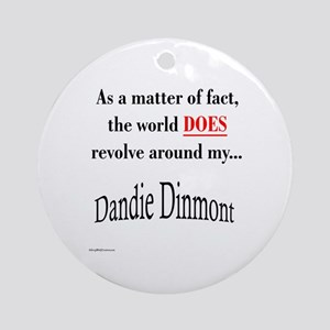 Dandie World Ornament (Round)