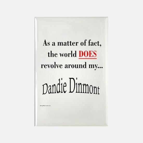 Dandie World Rectangle Magnet