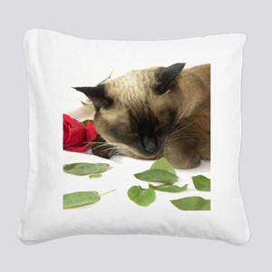 V Day 2010 (6) Square Canvas Pillow