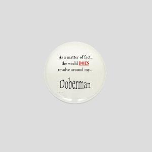 Dobie World Mini Button