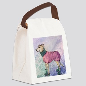 Wheres my hat? Canvas Lunch Bag