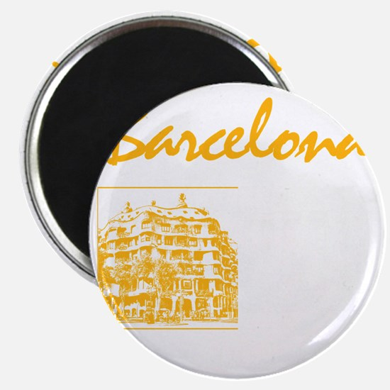 Barcelona_7x7_apparel_CasaMila_ParcGuell_Wh Magnet