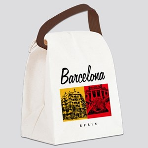 Barcelona_7x7_Bag_CasaMila_ParcGu Canvas Lunch Bag