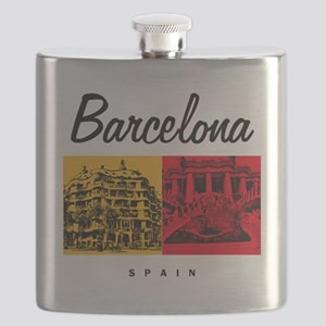 Barcelona_7x7_Bag_CasaMila_ParcGuell Flask