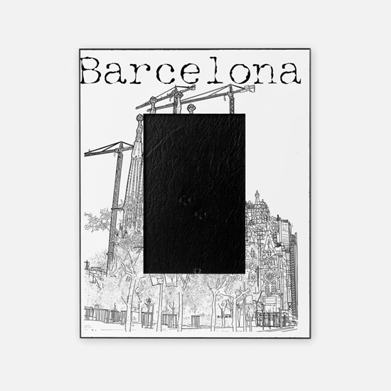 Barcelona_10x10_apparel_LaSagradaFam Picture Frame
