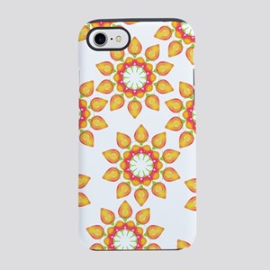Scattered Orange Flowers iPhone 7 Tough Case