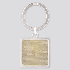 ConstitutionFULL Square Keychain