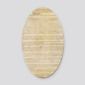 ConstitutionFULL Oval Car Magnet