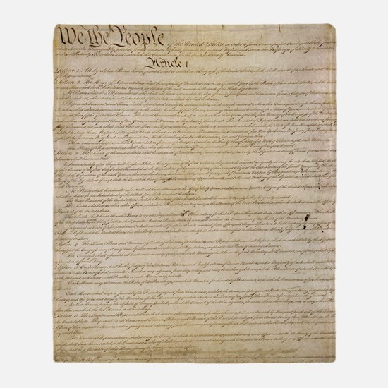 ConstitutionFULL Throw Blanket
