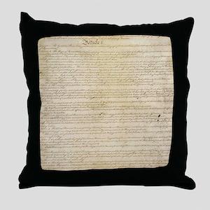 ConstitutionFULL Throw Pillow