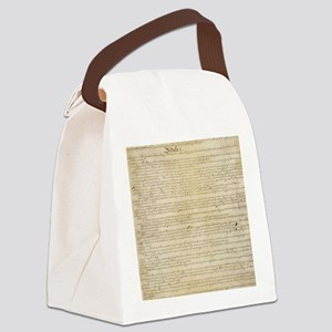 ConstitutionFULL Canvas Lunch Bag