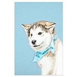 Siberian Husky Puppy Large Poster