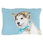 Siberian Husky Puppy Pillow Case