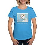 Siberian Husky Puppy Women's Dark T-Shirt