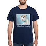 Siberian Husky Puppy Dark T-Shirt