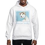 Siberian Husky Puppy Hooded Sweatshirt