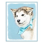 Siberian Husky Puppy Small Poster