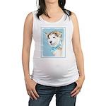Siberian Husky Puppy Maternity Tank Top