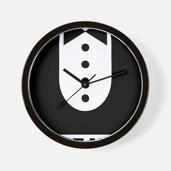 best man Wall Clock