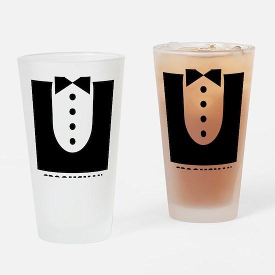 groomsman Drinking Glass