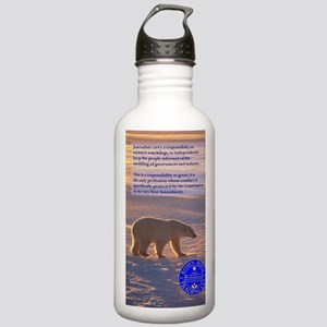 Izzis Journal Stainless Water Bottle 1.0L
