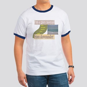 grey nomad on the road again Ringer T