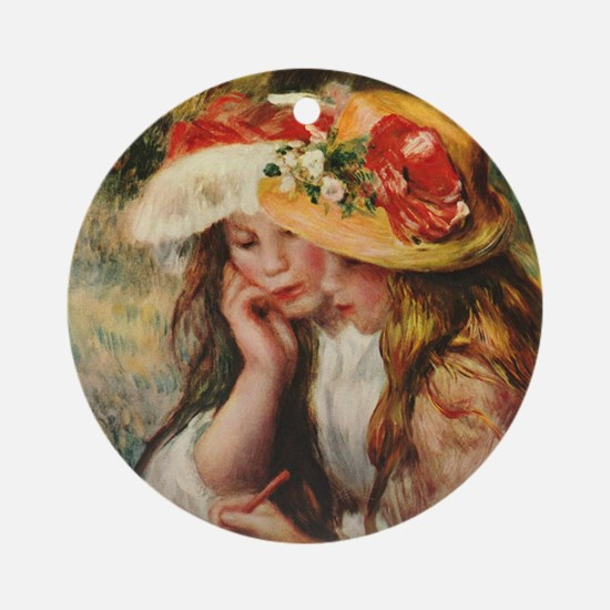 Renoir Round Ornament