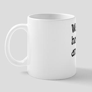 idiotbusyBack Mug