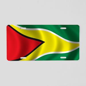 guyana_flag Aluminum License Plate