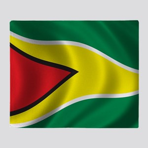 guyana_flag Throw Blanket