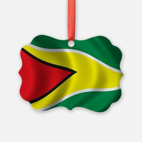 guyana_flag Ornament
