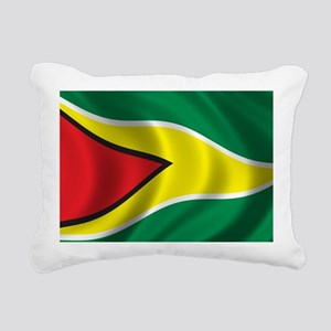 guyana_flag Rectangular Canvas Pillow