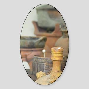 Artifacts found on Delos, Delos. De Sticker (Oval)