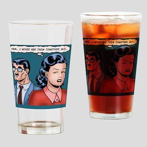 big-nose-hero-TIL Drinking Glass