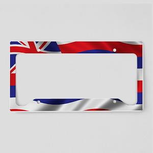 hawaii_flag License Plate Holder