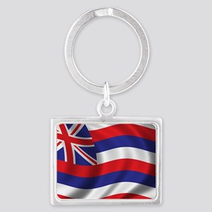 hawaii_flag Landscape Keychain