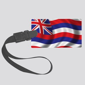 hawaii_flag Large Luggage Tag