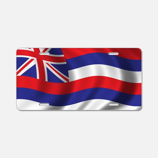 hawaii_flag Aluminum License Plate