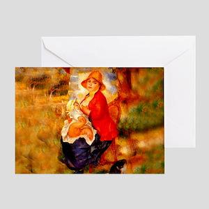 Nursing Mother Greeting Card