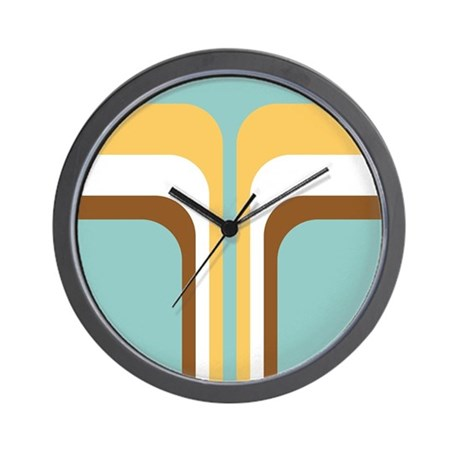Geometric Wall Clocks CafePress