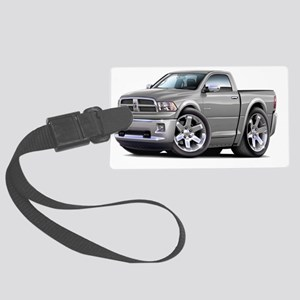 2010-12 Ram Silver Truck Large Luggage Tag