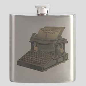 Antique Typewriter Flask
