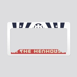 faux-henhouse-HAT License Plate Holder