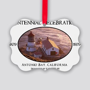 Antonio Bay Picture Ornament