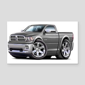 2010-12 Ram GreyTruck Rectangle Car Magnet