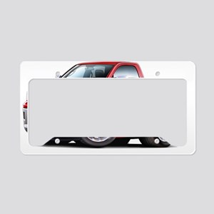 2010-12 Ram Red Truck License Plate Holder