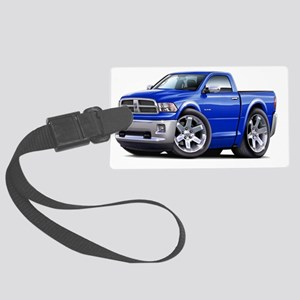 2010-12 Ram Blue Truck Large Luggage Tag