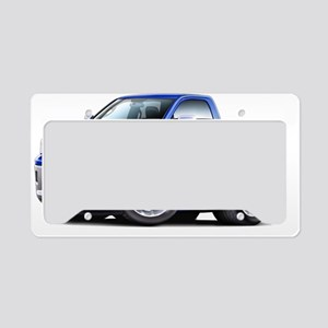 2010-12 Ram Blue Truck License Plate Holder