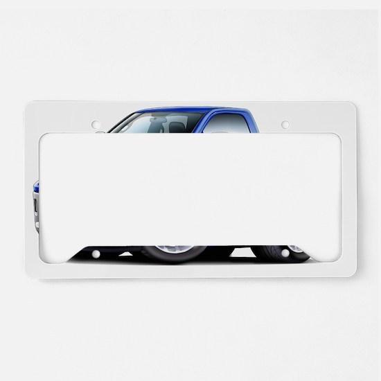 2010-12 Ram Blue Truck License Plate Holder
