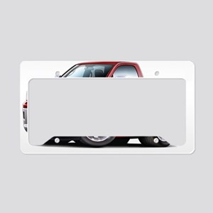 2010-12 Ram Maroon Truck License Plate Holder